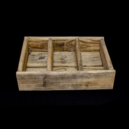 Carpinteria Product 3 Devision Tray