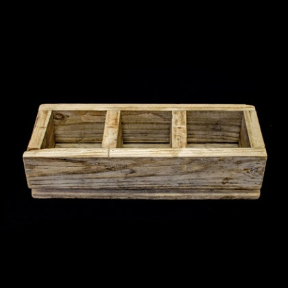 Carpinteria Product 3 Division Candle Box