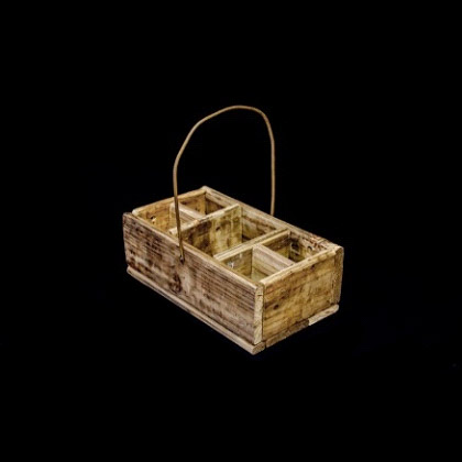 Carpinteria Product 5 Division Box With Steel Handle