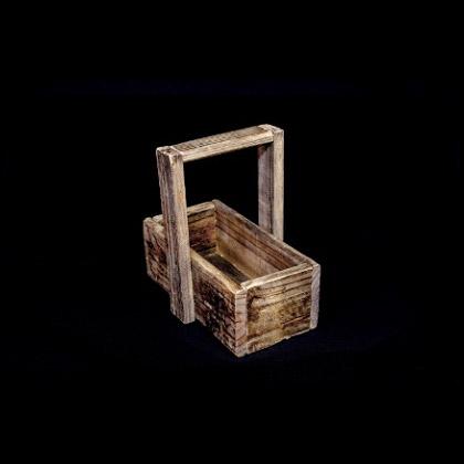 Carpinteria Product Basket With Single Handle